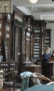 ORA Berlin, cafe in former pharmacy; Bezirk Friedrichshain-Kreuzberg, Oranienpl. 14, 10999 Berlin, Germany