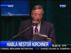 Kirchner desenmascara al grupo clarín