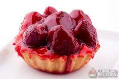 Receita de Tortinha de morango de padaria em receitas de tortas doces, veja essa e outras receitas aqui!
