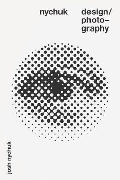 The eye / Graphism / visuel / Noir et blanc / Black and White / pointillés / circle / oeil / yeux / ojo / affiche Best Picture For Graphic Design typography For Your Taste You are looking for somethin Graphic Design Posters, Graphic Design Typography, Graphic Design Illustration, Graphic Design Inspiration, Circle Graphic Design, Book Design, Cover Design, Layout Design, Design Art