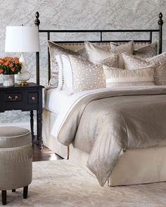 Twin Bed Sets With Comforter Bedding Sets Online, Luxury Bedding Sets, Comforter Sets, Modern Bedding, King Comforter, Bed Linen Design, Bed Design, Brown Bed Linen, Thing 1