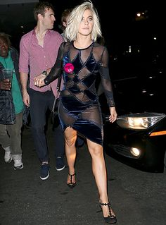 Julianne Hough Suffers Nip Slip at Dancing With the Stars Afterparty Following Amazing Performance With Derek