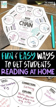 Fun, easy, concrete ways to help motivate students to read more at home. classroom Concrete Ways to Get Students Reading at Home 6th Grade Reading, 4th Grade Writing, Middle School Reading, Student Reading, Teaching Reading, Guided Reading, Fourth Grade, Third Grade, Learning