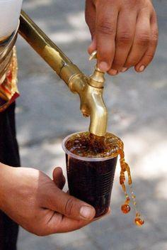 Ne coca cola ne de ice tea Bizi serinleten tek şey Meyan şerbeti...