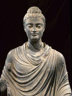 Gandharan Standing Buddha, 1st-2nd century AD