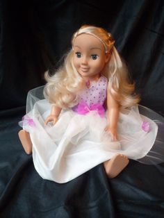 My friend Cayla princess dressing up dress. Fits by OllieandEllie