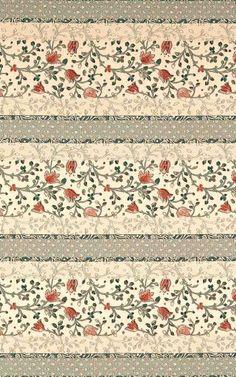 vintage floral pattern ~