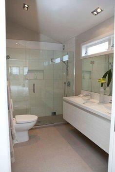 New York Cemento | Heritage Tiles www.tiles.co.nz  Bathroom design by Jackie Jones #bathroom #bathroom_tiles #tiles #interior_design #design