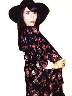 New post up on my blog! #pimkie #kimono #flowers #pimkieoutfit #hm #bohohat #zara #dior #diormakeup #fashionblogger #followme