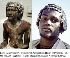 And who said Egyptians weren't black?