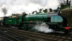 #Swanage #Railway's #Autumn Steam Gala, held on the 16th-18th October, will see a visit from the #KingArthur Class #locomotive 777 Sir Lamiel!Photo: Locoyardwww.swanagerailway.co.uk/events/detail/autumn-steam-gala