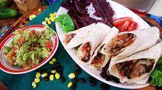 Burritos vegetarianos con Caro Valsagna Burritos, Crepes, Tacos, Mexican, Quesadillas, Ethnic Recipes, Food, Arrows, Vegetarian Recipes