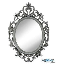Small Decorative Framed Oval Wall Mounted Mirror Classic Vintage Baroque 15x10.5 #MONOINSIDE