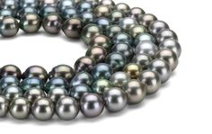 Tahitian pearls offer a stunning array of natural colors to compliment any style or complexion.
