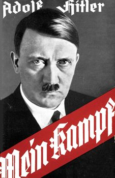 Mein Kampf (My Struggle) - Adolf Hitler. Vol. 1 published in 1925 and Vol. 2 published in 1926.