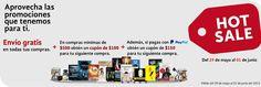 Promociones Hot Sale 2015 en Librerías Gandhi envió gratis
