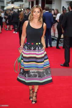 Louise Redknapp attends the World Premiere of 'The Bad Education Movie' at Vue West End on August 20, 2015 in London, England.