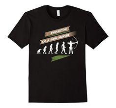 Bow Hunter, Evolution T Shirt, Gift Ideas, Amazon, Hunting, Mens Tops, Outdoors, Shirts, Fish