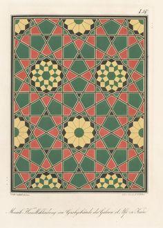 Mosaik-Wandbekleidung im Grabgebäude des Galaon el Alfi zu Kairo