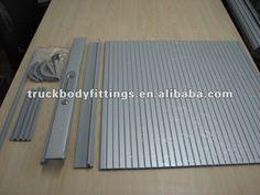 Cabinet roll up shutters/PVC shutter/Sliding door