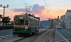 Hiroshima Electric Railway #hiroshima #japan
