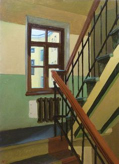 Ruben Monakhov, The Stairs. on ArtStack #ruben-monakhov #art