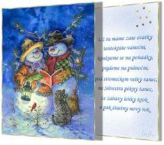 Vánoční přání s říkankou   vánoční blog