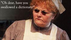 Sassy Mrs. Patmore, Downton Abbey