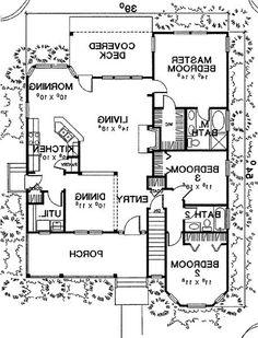 First Floor Plan image of The Buchanan