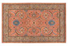 Anouk Rug, Green/Orange on OneKingsLane.com eight. By eleven is $1000