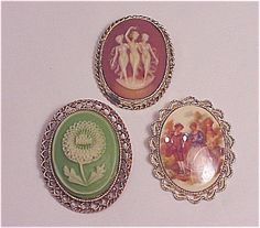 Vintage Jewelry Cameo - Bing Images  Tricia'a Treasures