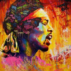 Jimi Hendrix by Noe Two
