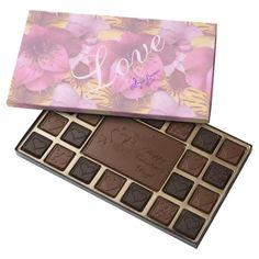 Love & Flowers Valentines Day Box of Chocolates by #MoonDreamsMusic #BoxOfChocolates #ValentinesDay #LoveAndFlowers