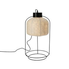 CageTable Light GM Black, 229€, by Arik Levy (Brand Forestier)