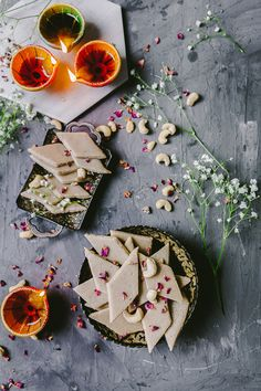 Kaju Katli, also sometimes referred as Kaju Barfi, is one of the most favorite Indian sweets. It's fudgy, rich and melts in the mouth. Indian Desserts, Indian Sweets, Indian Snacks, Indian Food Recipes, Sweets Photography, Food Photography Tips, Product Photography, Kaju Katli, Burfi Recipe