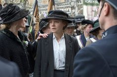 """Sarah Gavron narrates a sequence from her film """"Suffragette,"""" featuring Carey Mulligan."""