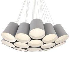 Borto LED Chandelier by Eurofase