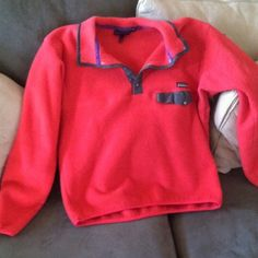 Patagonia fleece pullover Some pilling, still in good condition! Patagonia Jackets & Coats
