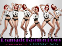 """sims 4 cc // custom content pose pack // by joanne bernice // """"dramatic fashion poses"""" Sims 4 Couple Poses, Couple Posing, Cute Poses, Sims 4 Custom Content, Fashion Poses, That Look, Wonder Woman, Superhero, Clothes"""