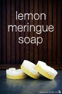 Lemon Meringue Pie Cold Process Soap Recipe