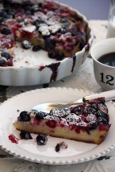 Mixed Berries Clafoutis