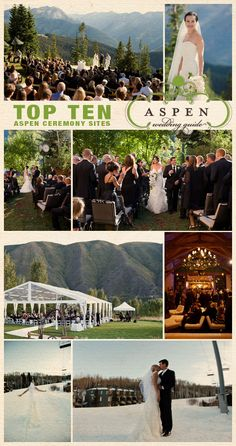 Aspen Wedding Guide #aspen #colorado #wedding