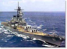 Pearl Harbor.com - USS Missouri Battleship Specifications