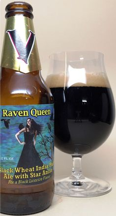 Raven Queen is a American Dark Wheat Ale style beer brewed by Valkyrie Brewing in Dallas, WI