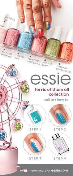 Nail Art Designs Videos, Cute Nail Designs, Cute Acrylic Nails, Cute Nails, Diy Nails, Swag Nails, Essie Nail Polish, Nail Games, Trendy Nails