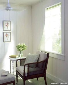 Switch It Up | Martha Stewart Living - Change the direction of your ceiling fans. While the standard counterclockwise direction provides a pleasant breeze during warm months, you should run the fan clockwise in cold weather.