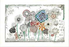 Shelly Beauch - I have done this since I was little! It is how I doodle!