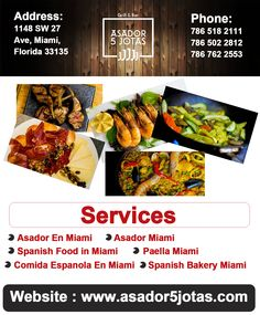 For A True Spanish Dining Experience Visit Asador 5 Jotas Located In Miami