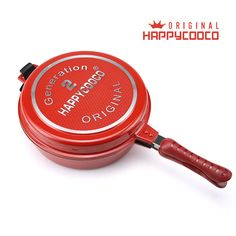 Wholesale Happycooco Soup Pot Non-stick Low Pressure Cooker  Double Side Fry Pan With Soup Pot