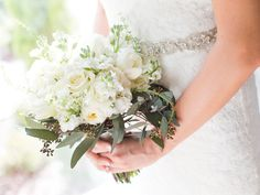Best of 2015: Bride's Bouquets by The Sonnet House, a Wedding Venue in Birmingham, Alabama   Photo: Ann Wade Photography
